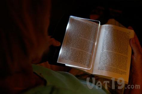 LightWedge Book Reading Light