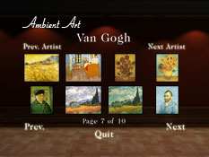 Choose your Impressionist Painting