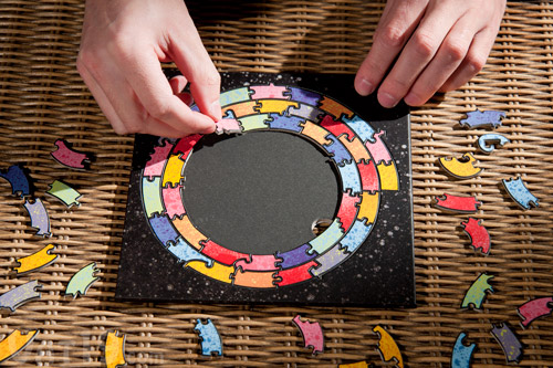 The Baffler Puzzle is one of the most unique jigsaw puzzles around.
