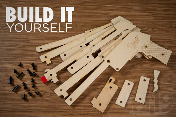 automatic rubber band gun plans image search results