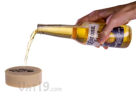 Beer Soap is made using real beer as an ingredient.