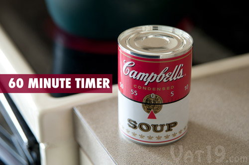 Campbell's Soup Kitchen 60-Minute Timer