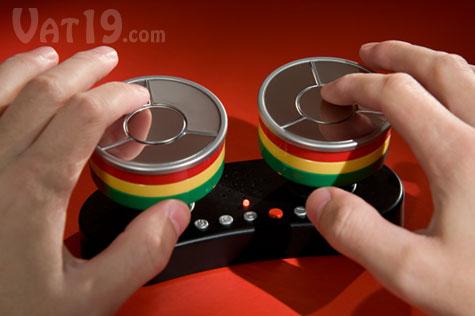 Caribbean Finger Drum is a touch-sensitive steel drum kit.