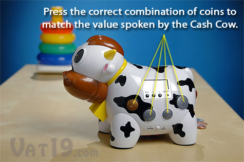 Learn coin values through the Coin Game.