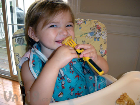 Constructive Eating Utensils set makes mealtime so much more fun!