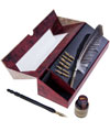 Feather Pen Set