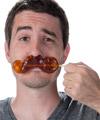 Gummy Mustache