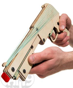 Bandit Guns Pump-Action Rubber Band Gun