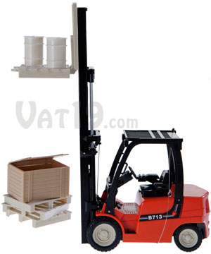 R/C Forklift w/ Rack Accessories