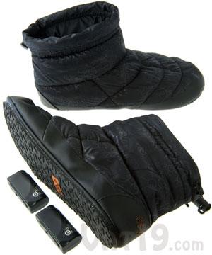 Volt Heated Indoor/Outdoor Slippers