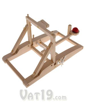 Build your own medieval siege engine.