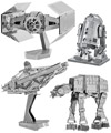 Star Wars 3D Metal Models