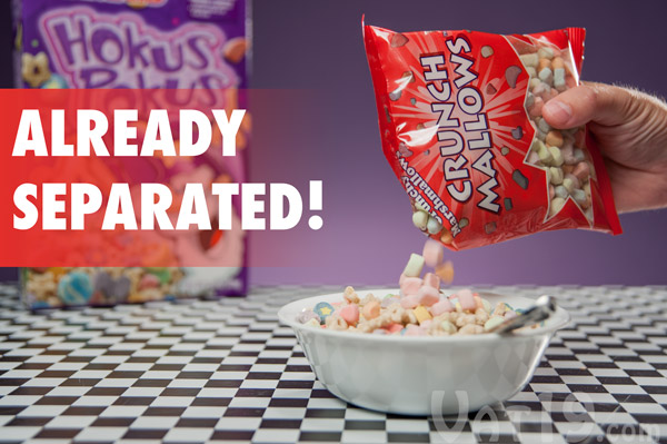 Add crunchy cereal marshmallows to any cereal.