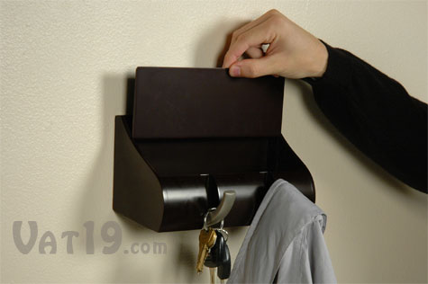 Cubby Wall Organizer with a removable compartment