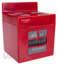 Red DoneRight Kitchen Multi Timer