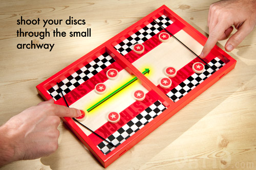 Fastrack Wooden Desktop Game