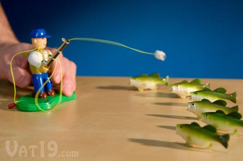 First Strike Fisherman Desktop Fishing Game