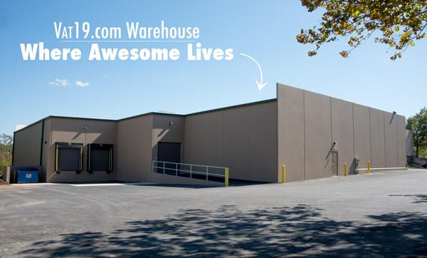 Vat19.com warehouse