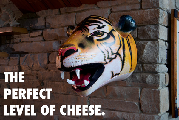 Decorate game rooms and kid rooms with Giant Inflatable Animal Heads.