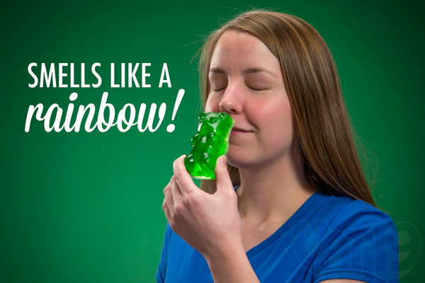 Gummy Bear Soaps are deliciously scented.