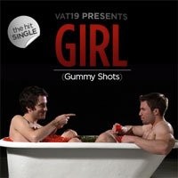 Girl (Gummy Shots) album cover.