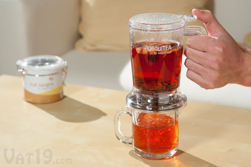 Brew your own loose leaf tea with the IngeuiTea Teapot.