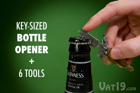 The KeyTool is primarily a bottle opener.