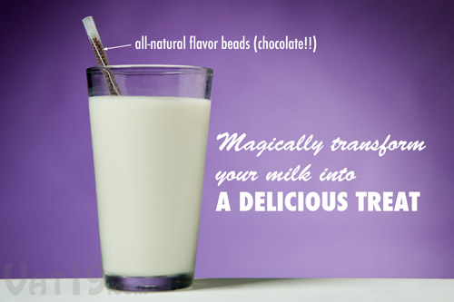 Magic Milk Straws flavor your milk with delicious all-natural ingredients.