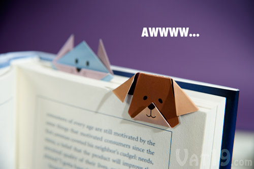 Mark your pages with these adorable magnetic animal bookmarks.