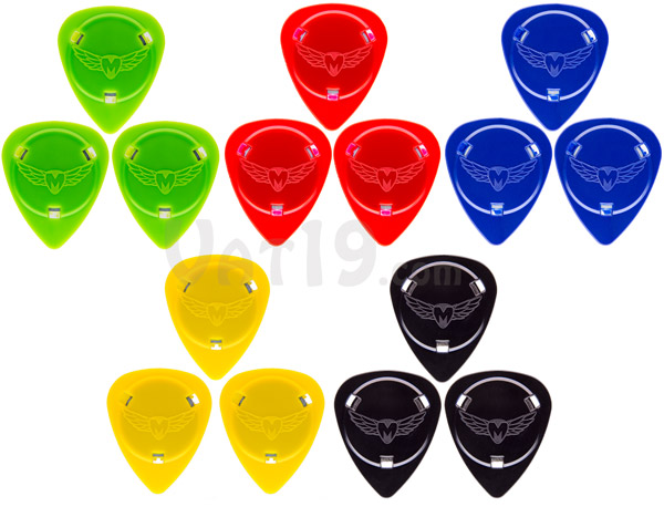 Choose from a variety of Magnetic Guitar Pick colors.