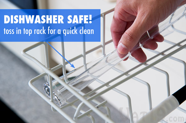If necessary, clean out your magazines by placing them on the top rack of your dishwasher.