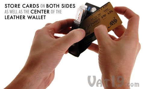 Money Clamps include leather wallets