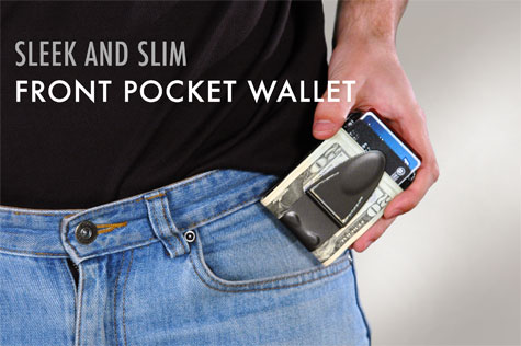 Money Clamp money clip alternative to builky wallets