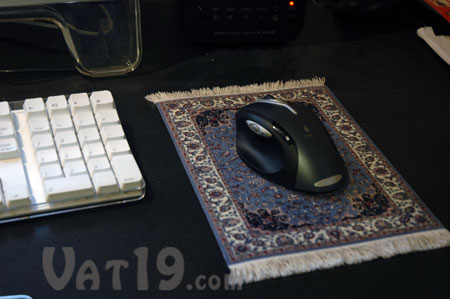 Mouserug oriental rug mouse pad