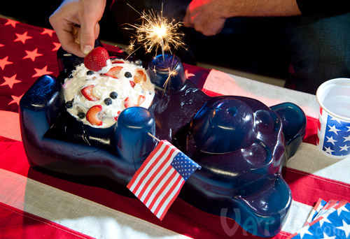 Make the Party Gummy Bear the centerpiece of your themed party!