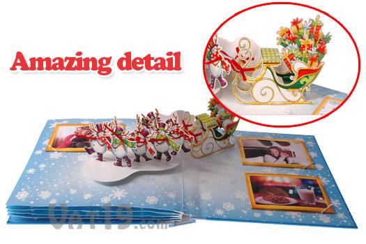 Christmas Pop-up Photo Album