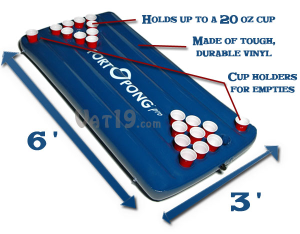 Beer Pong Table statistics