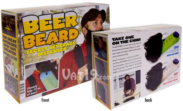 Prank Packs Beer Beard - Secret Beverage Container