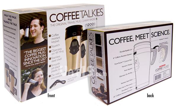 Prank Packs Coffee Talkies