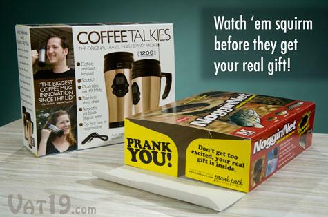 Prank Packs fake gift boxes are hilarious prank gift boxes.