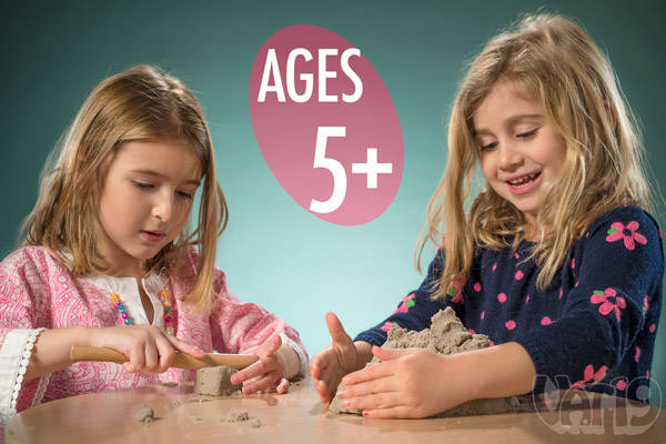 Sand by Brookstone is designed for kids ages 5 and up.