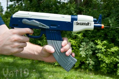 The Saturator AK-47 Automatic Water Gun