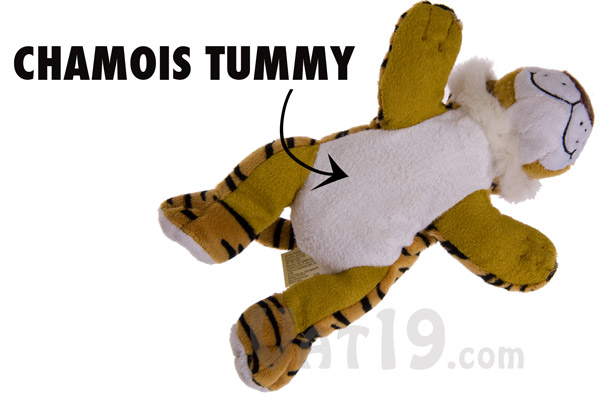 Chamois Tummy on the Computer Care Scren Wipe