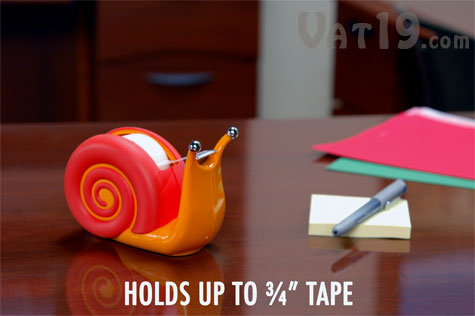 Snail Tape Dispenser holds up to 3/4