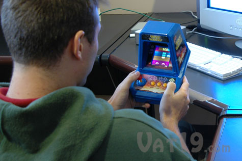 Space Invaders on your desk
