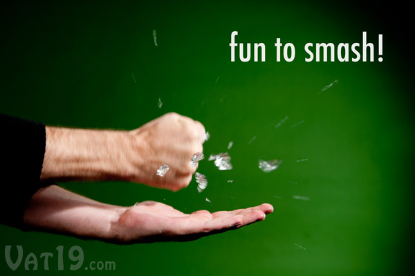 Spitballs are fun to smash!