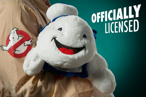 The Stay Puft Marshmallow Man Pillow is officially licensed.