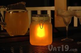 Sun Jar as a lantern