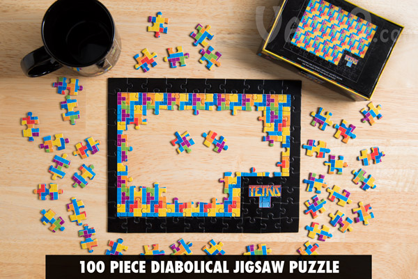 The Tetris Jigsaw Puzzle is officially licensed.