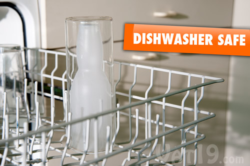 The Australian Beer Glass is dishwasher safe.